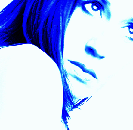 Blue Portrait
